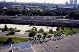 Widok z lotu ptaka na fabrykę