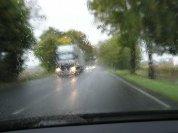 wycieraczki - deszcz